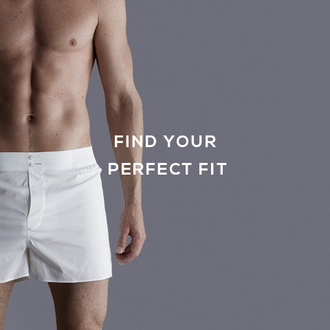 Find your perfect fitting boxer short - Hamilton and Hare Fit Guide