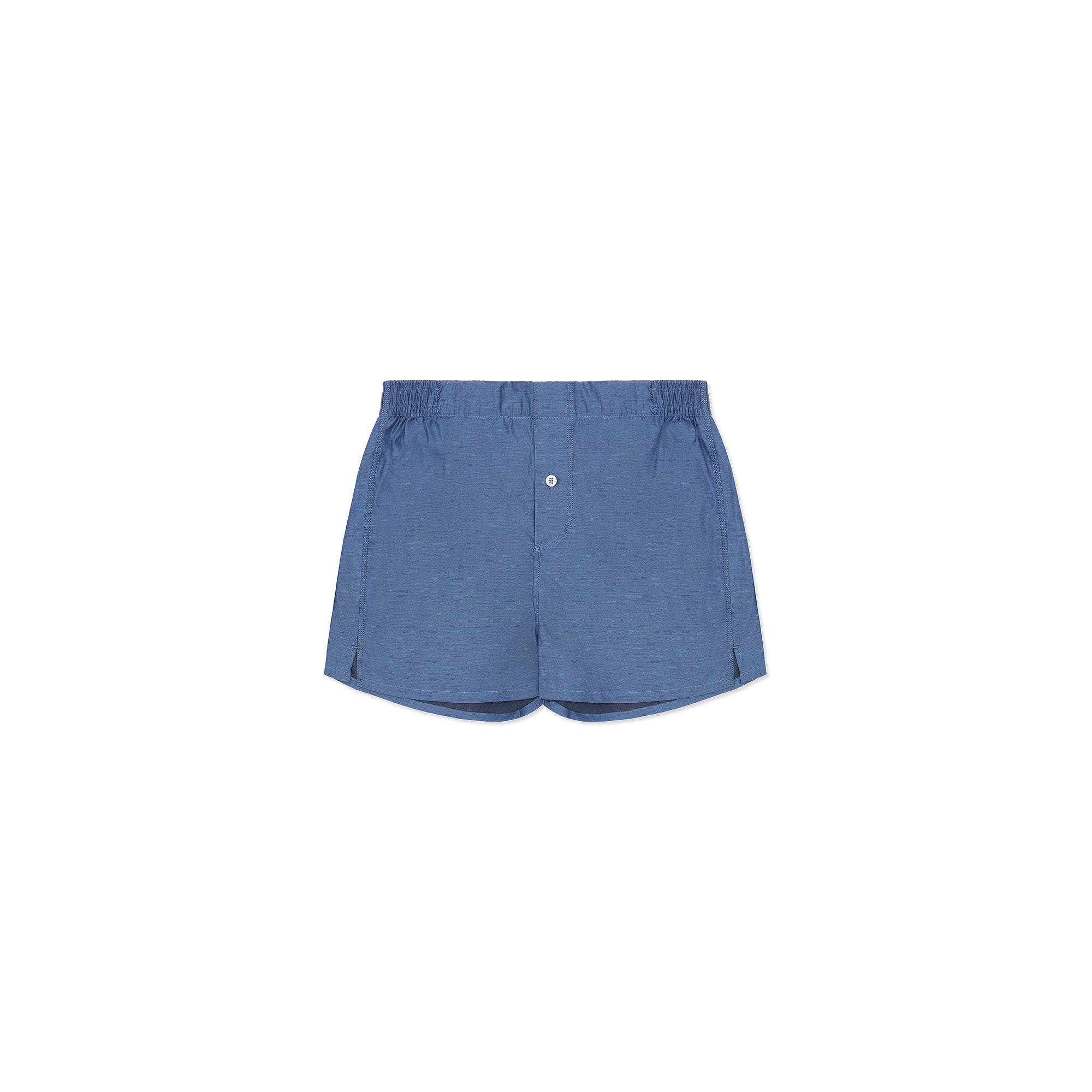 Monogrammed Boxer Short - Navy - Hamilton and Hare Ltd