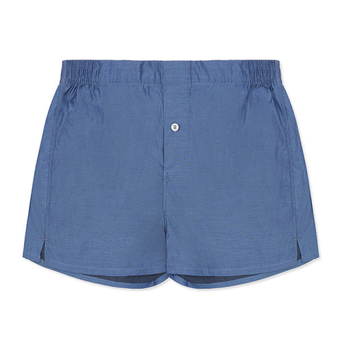 Boxer Short - Navy - Hamilton and Hare Ltd