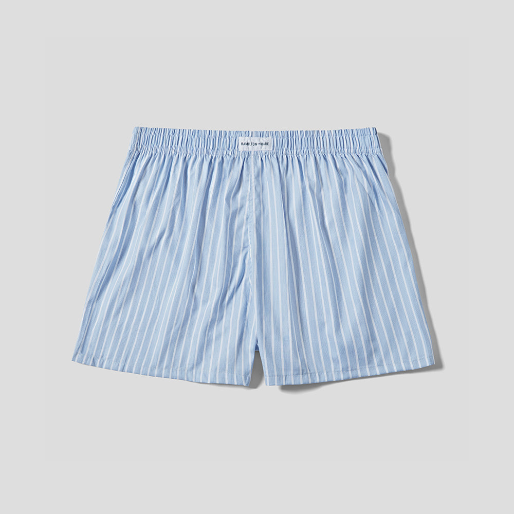 Boxer Short - Blue Stripe