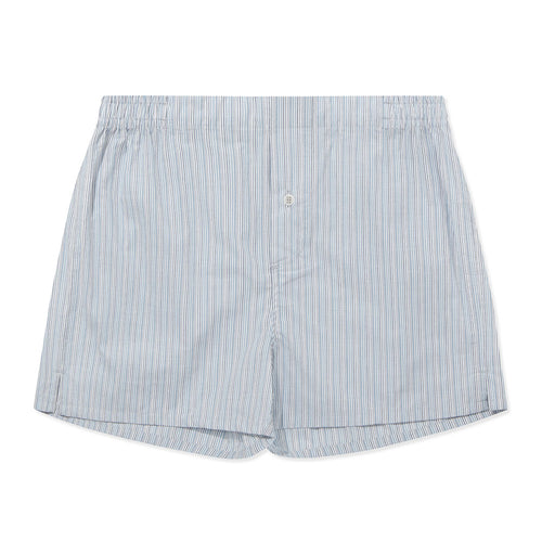 Boxer Short - Multi Blue Stripe