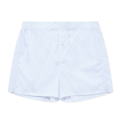 Boxer Short - Blue White Stripe