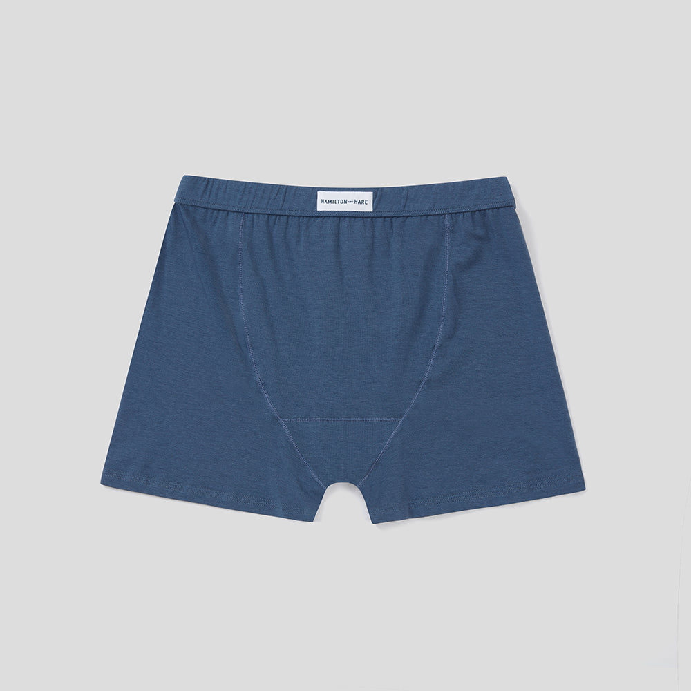 Boxer Brief  - Pebble Blue