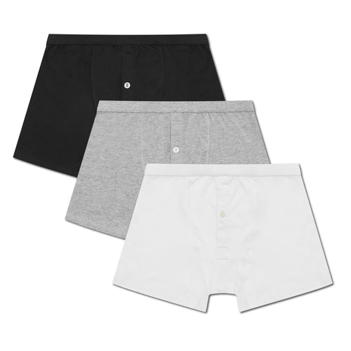 3 Pack Boxer Brief - Mix Set - Hamilton and Hare Ltd