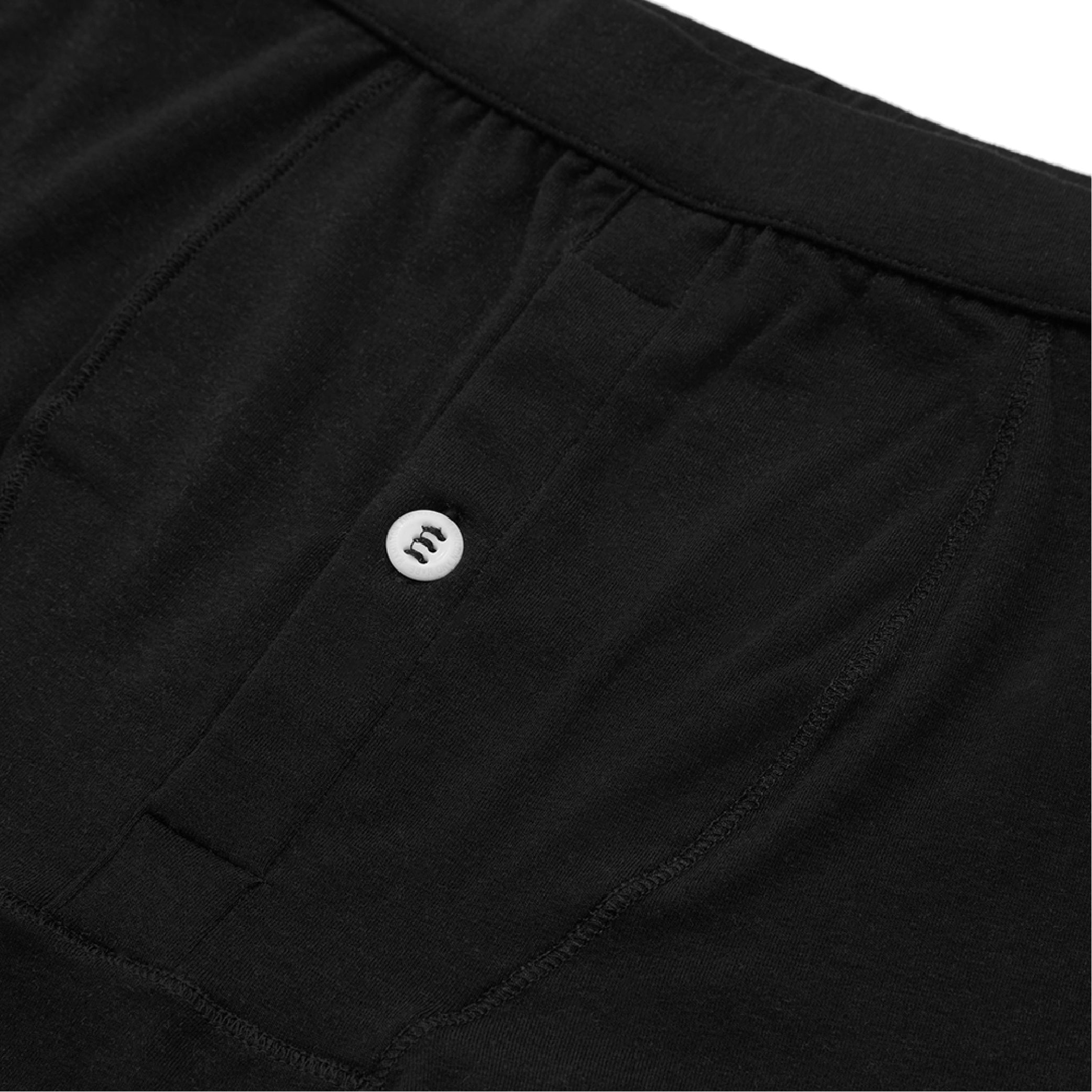 3 Pack Boxer Brief - Black - Hamilton and Hare Ltd