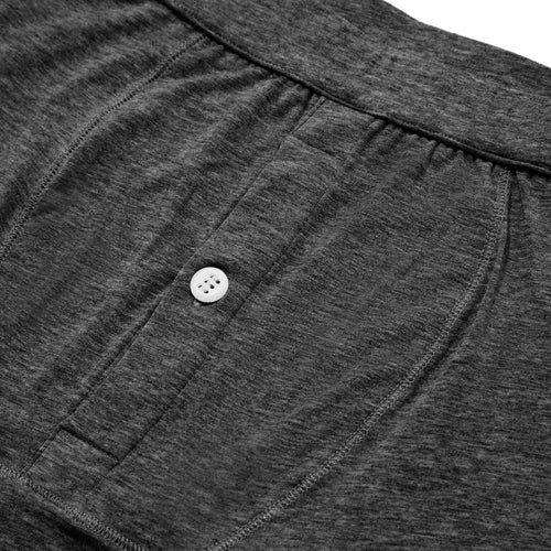 Boxer Brief - Charcoal Melange - Hamilton and Hare Ltd
