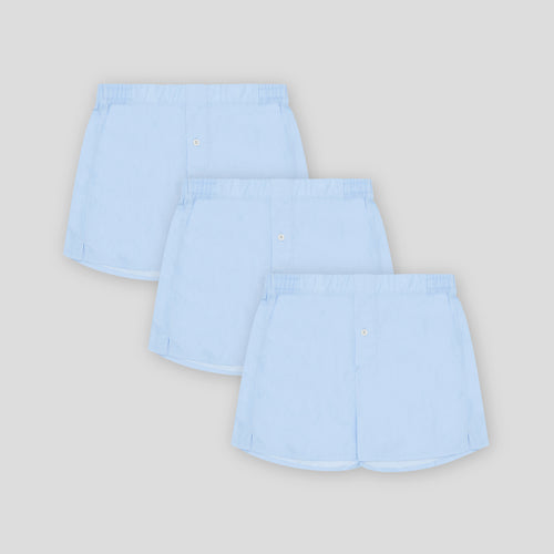 3 Pack Boxer Short - Sky Blue