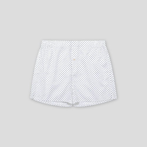 Boxer Short - Navy Polka Dot
