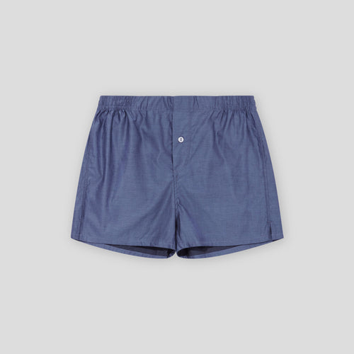 Plain Boxer Short Box Set - Sky Blue, White, Navy