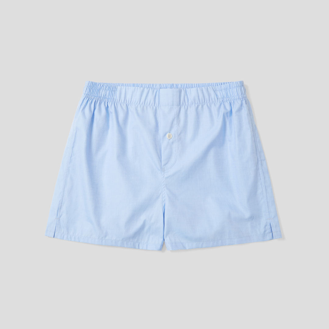 3 Pack Boxer Short - Pink Stripe, Blue Stripe, Sky Blue