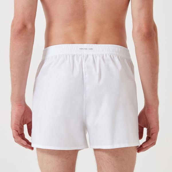 Working Week Boxer 5 Pack - Classic White - Hamilton and Hare Ltd