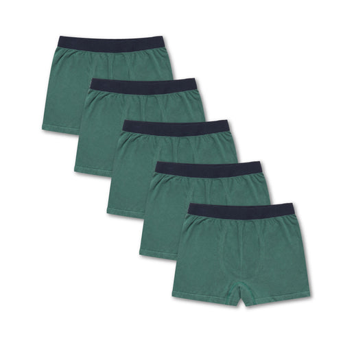 5 Pack Elm Green Tubular Trunks