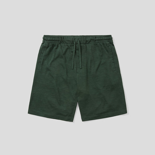 Drawstring Shorts - Evergreen