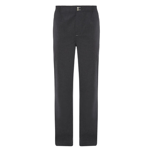 Charcoal Grey Brushed Cotton Pyjama