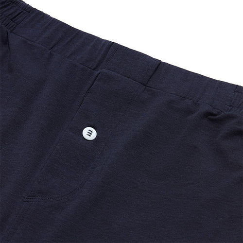 Jersey Boxer Short - Navy - Hamilton and Hare Ltd