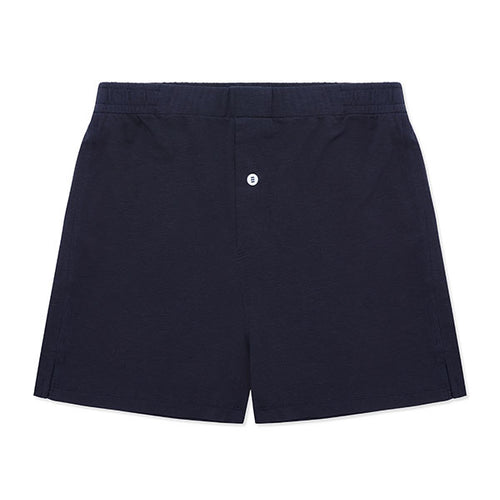 Jersey Boxer Short Navy