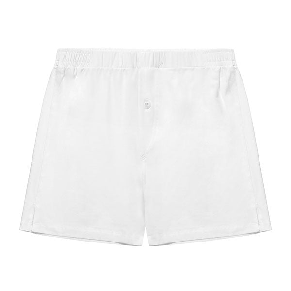 Jersey Boxer Short White