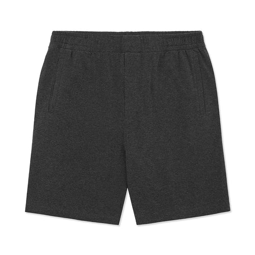 Jersey Sleep Short - Charcoal Melange - Hamilton and Hare Ltd