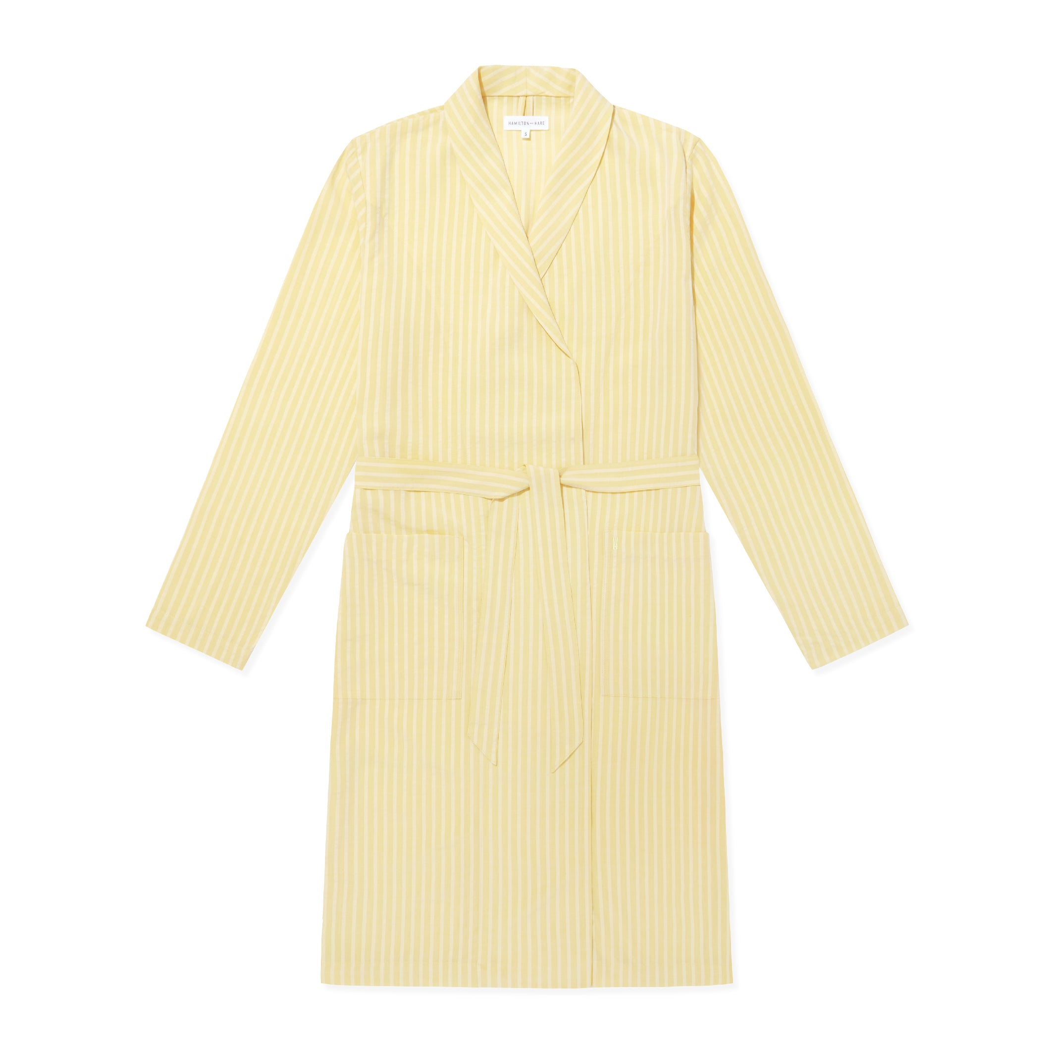 Relax Robe - Limoncello Stripe - Hamilton and Hare Ltd