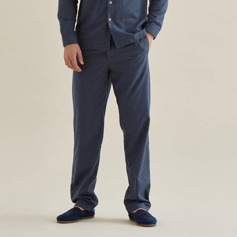 Timeout Drawstring Trouser - Navy Texture