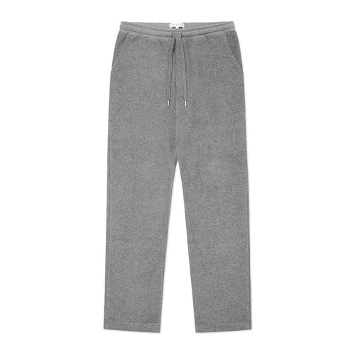 Drawstring Trouser - Grey Terry - Hamilton and Hare Ltd