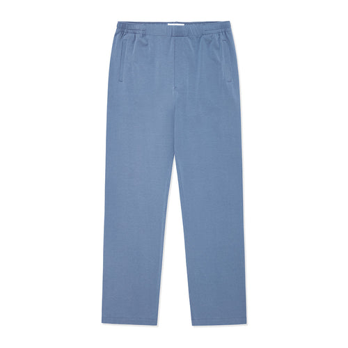 Lounge Trouser - Mineral Blue - Hamilton and Hare Ltd