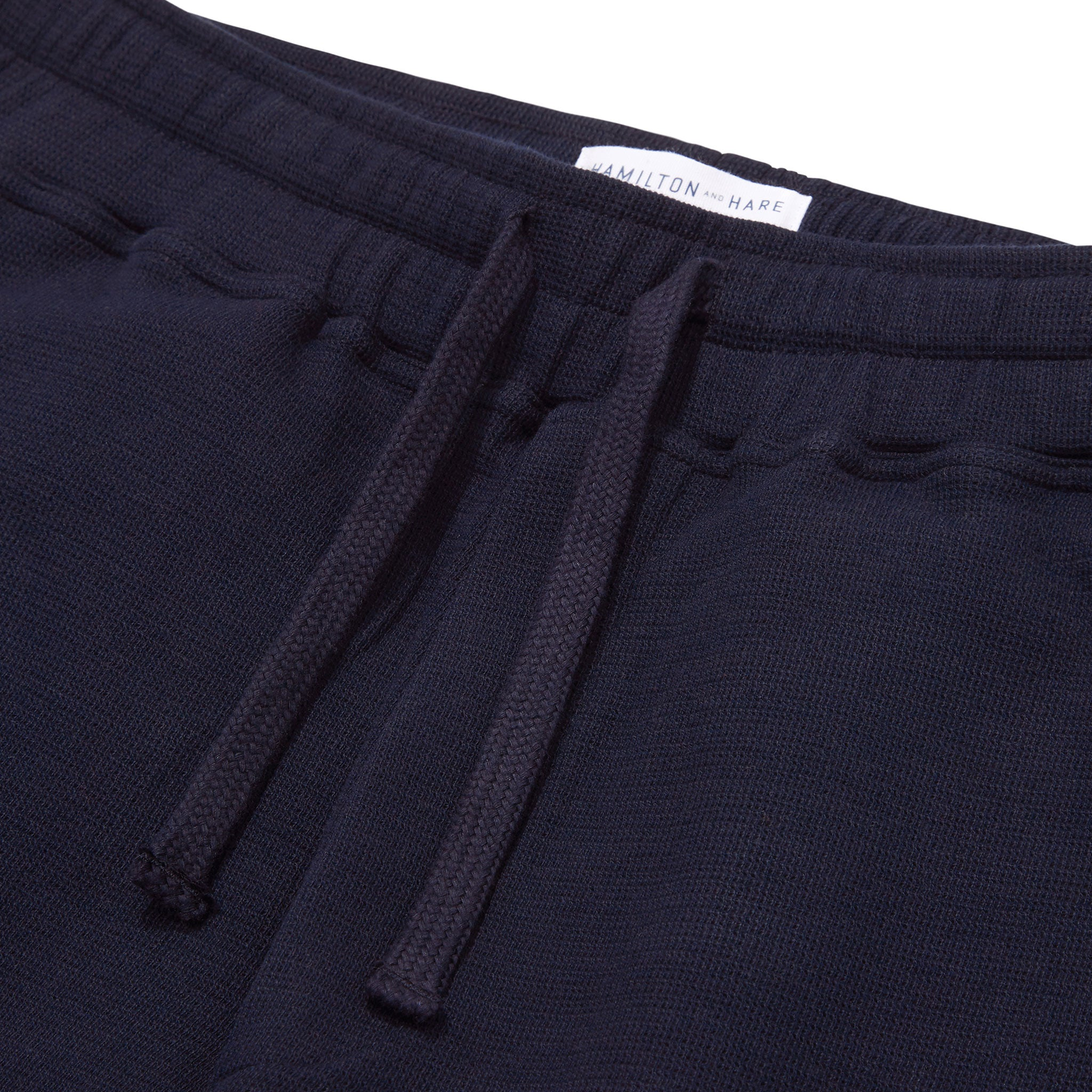Hamilton and Hare Travel Trouser Navy
