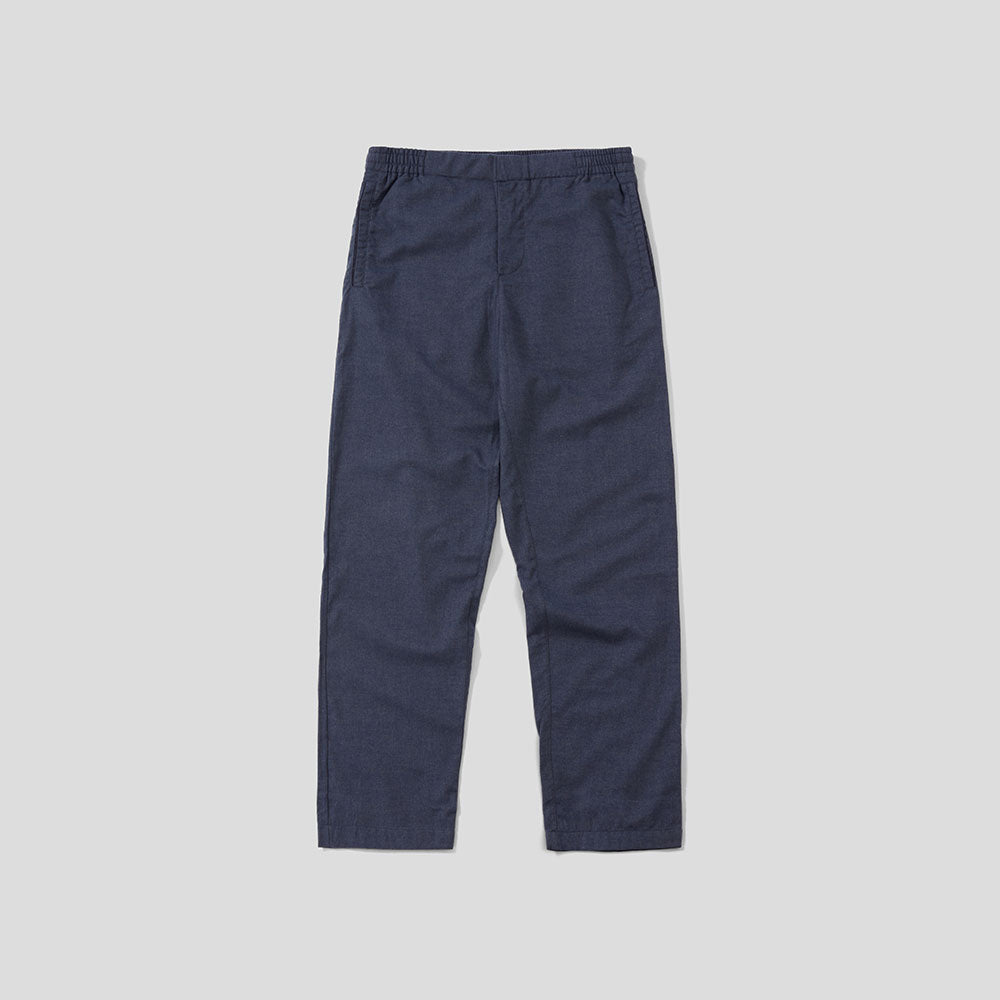 Pyjama Trouser - Navy Cotton Flannel