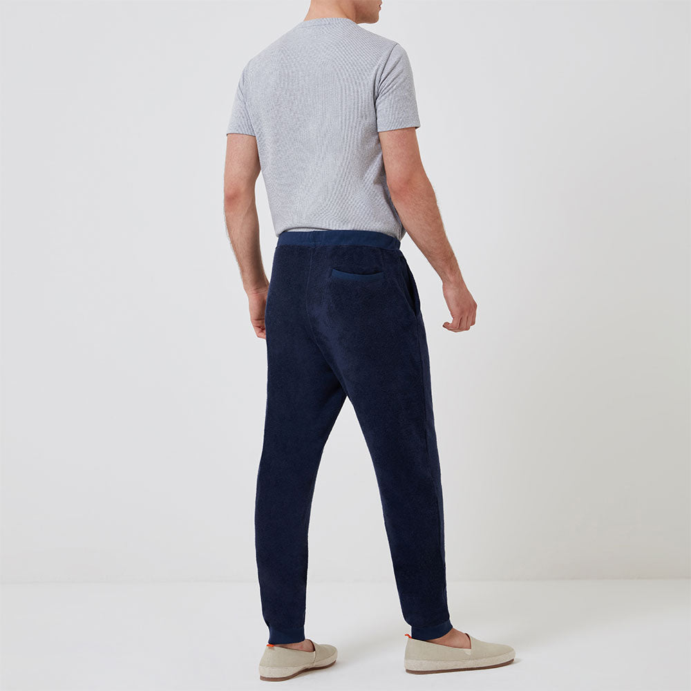 Terry Track Trouser - Navy - Hamilton and Hare Ltd