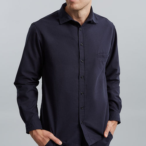 Navy House Shirt