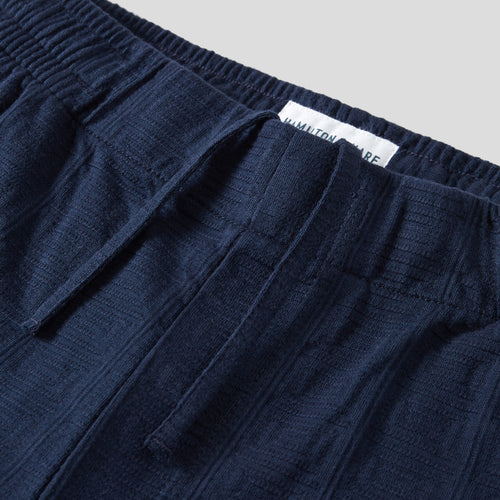 Lounge Short - Navy Tile