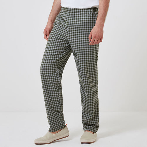 Sleep Trouser - Olive Check