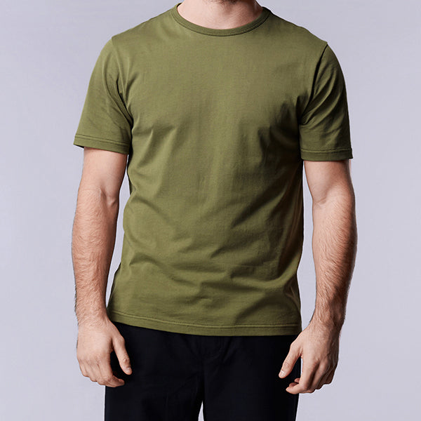 Dusty Olive Logo Short Sleeve Tee