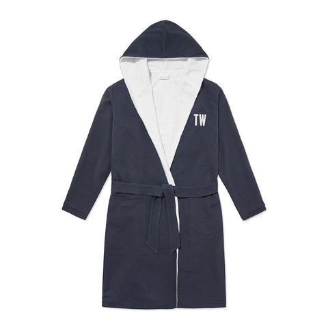 Personalised Towelling Robe - Red Stripe