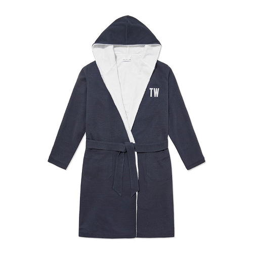 Personalised Towelling Robe - Navy