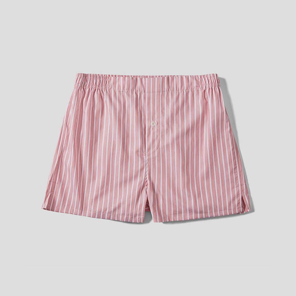 Boxer Short - Pink Stripe