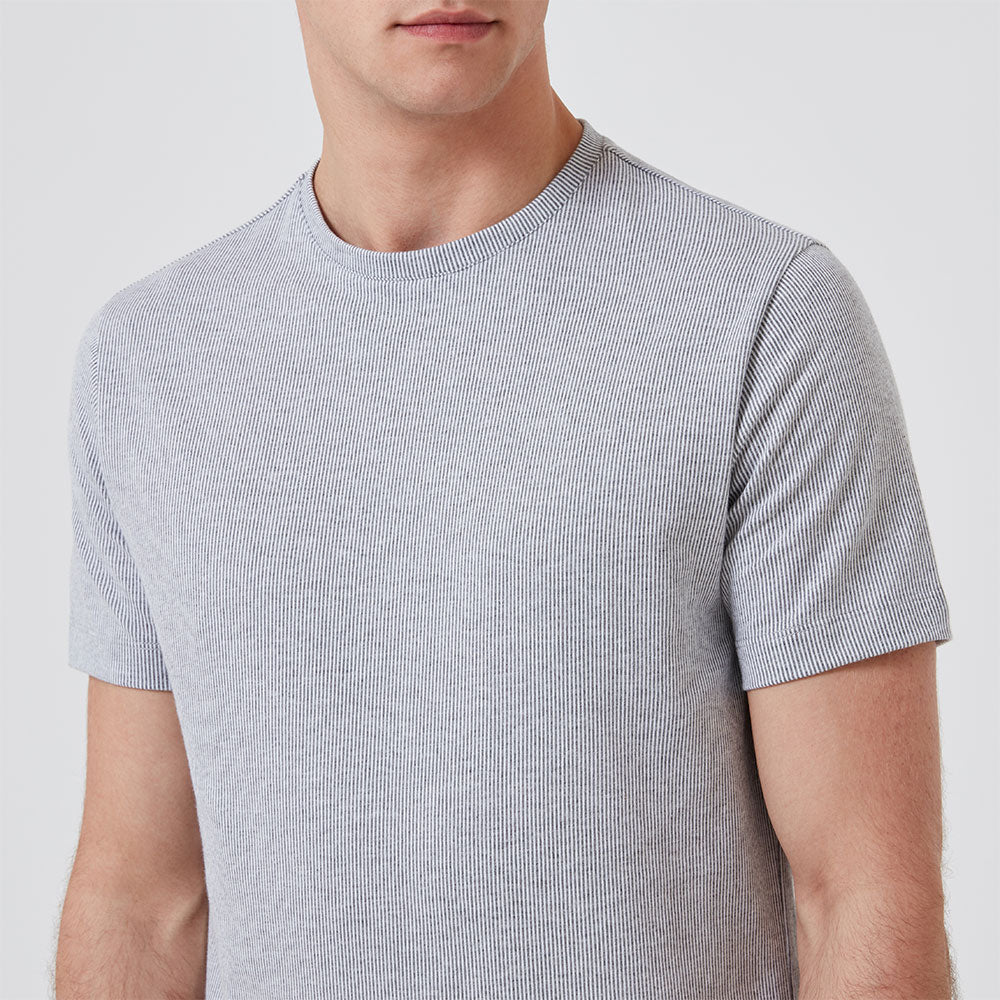 Relax T-Shirt - Grey Stripe - Hamilton and Hare Ltd