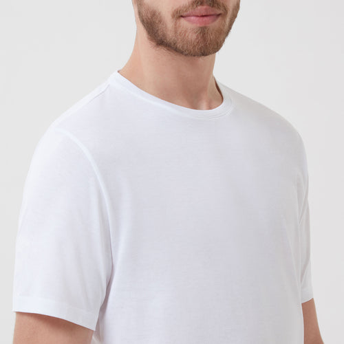 Relax Tee White - Hamilton and Hare Ltd