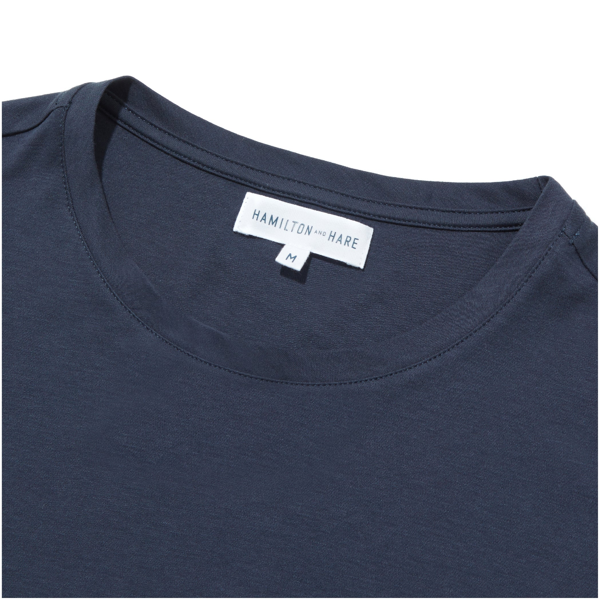 Relax T-Shirt - Navy - Hamilton and Hare Ltd