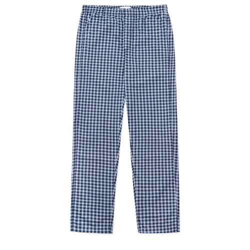 Cotton Cashmere Sleep Trouser Navy Cross