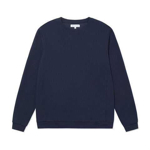 Terry Towelling Sweatshirt - Grey Melange
