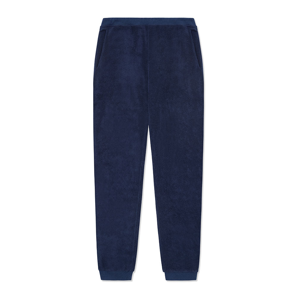 Cuff Jogger - Navy Terry