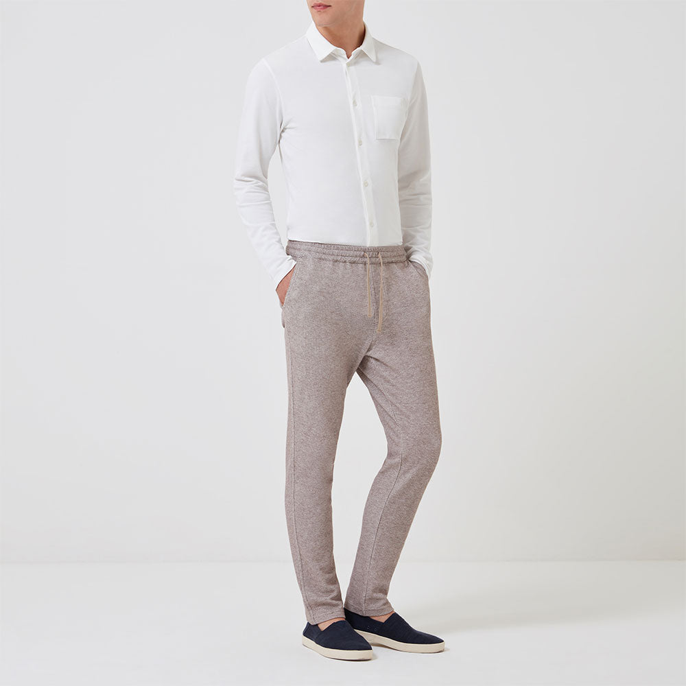 Timeout Trouser - Sand - Hamilton and Hare Ltd