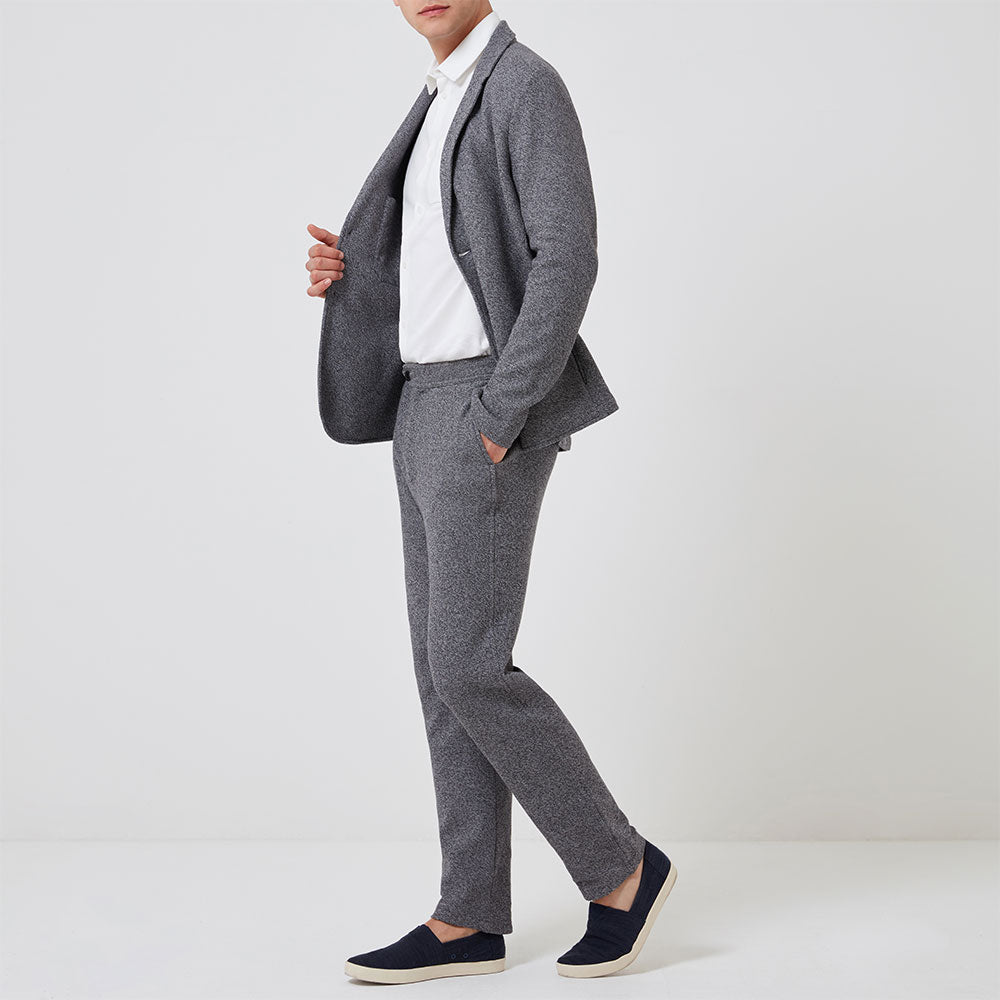 Travel Blazer - Dusk Grey - Hamilton and Hare Ltd