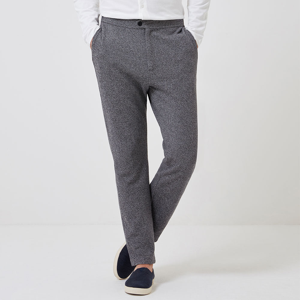 Travel Trouser - Dusk Grey - Hamilton and Hare Ltd