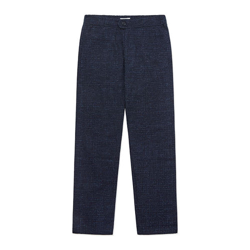 Travel Trouser Navy Fleck