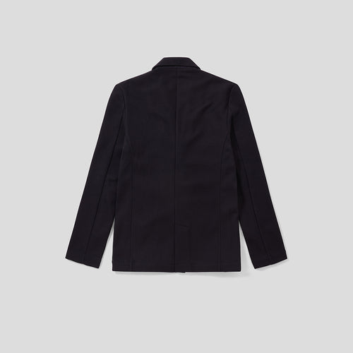 Travel Blazer - Navy Microwaffle
