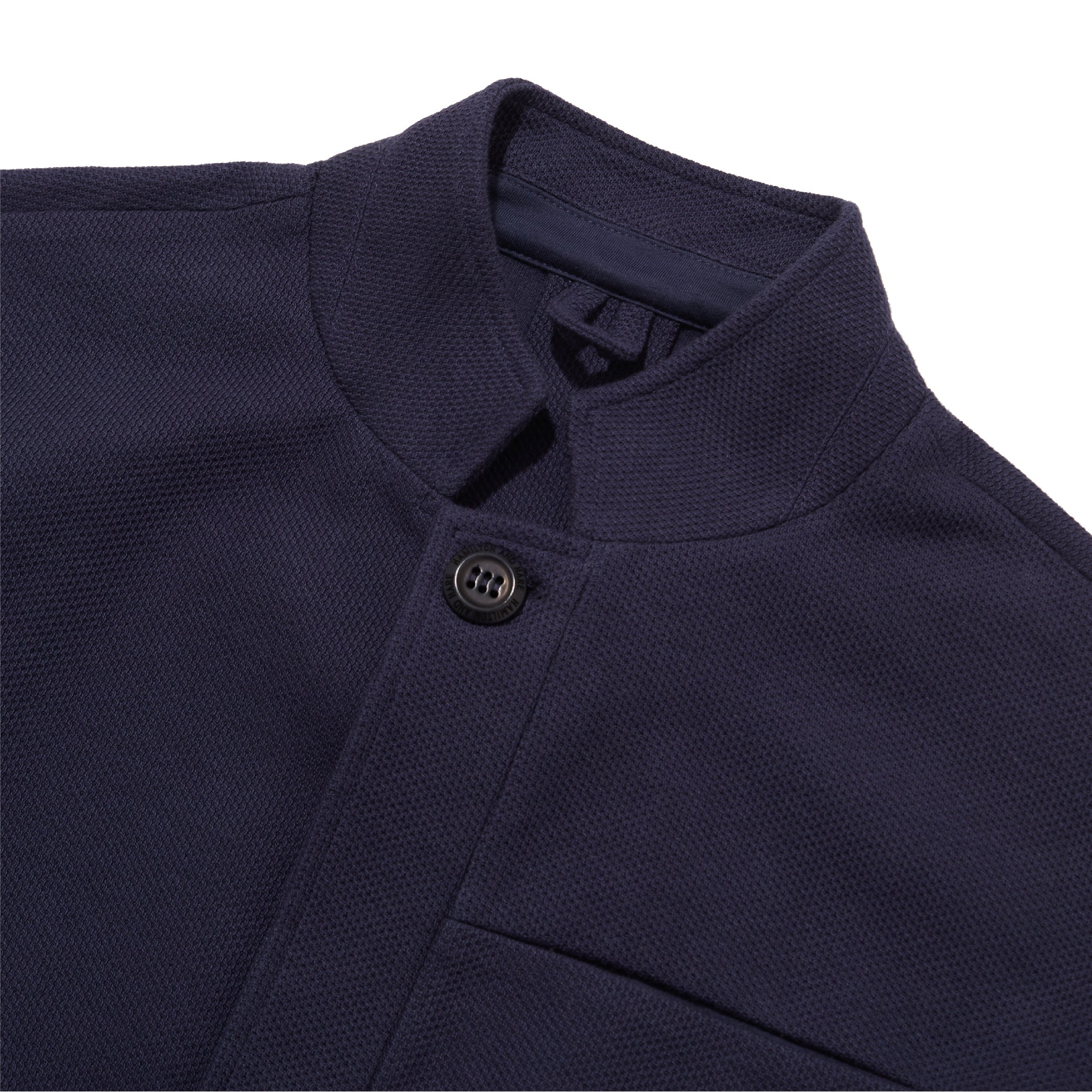 Journeyman Jacket - Navy Texture - Hamilton and Hare Ltd