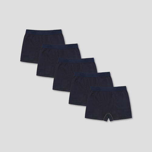 5 Pack Trunk - Navy