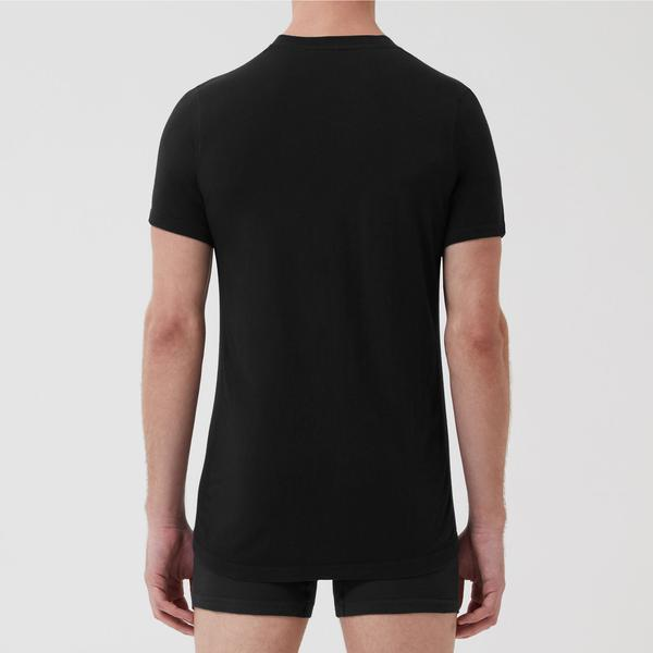 Tubular Crew Neck 3 Pack Black - Hamilton and Hare Ltd